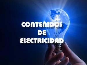 Contenidos de Electricidad