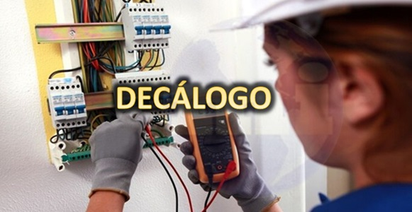 Decálogo de Seguridad en Electricidad