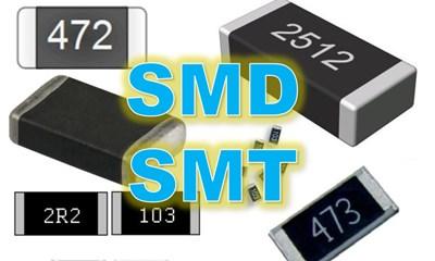 lectura de resistencias SMD y SMT