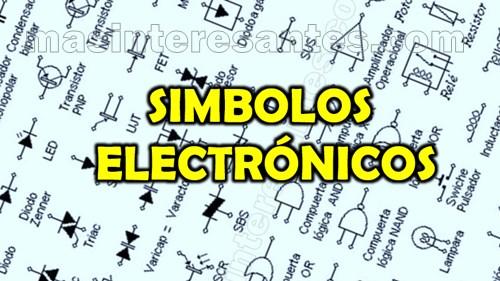 simbolos electrónicos