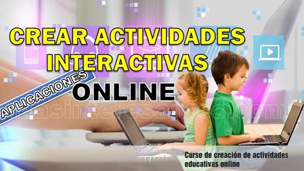 Crear actividades interactivas gratis