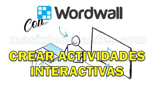 Crear juegos o actividades interactivas para niños con Wordwall